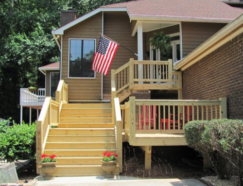 Brookhaven Front Porch & Stairs